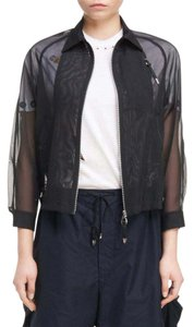 TOGA Bomber Sheer Designer BLACK Jacket