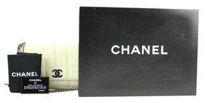 Chanel 4 Chain Chocolate Bar Classic Flap Cc Triple Shoulder Bag