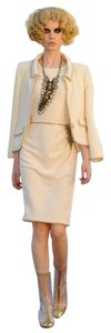 Chanel Designer Cruise Tweed Ivory Blazer