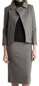 Searle Pencil Cashmere Skirt Coffee