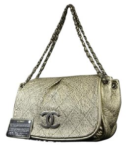 Chanel Camera Satchel Buffalo Shoulder Bag