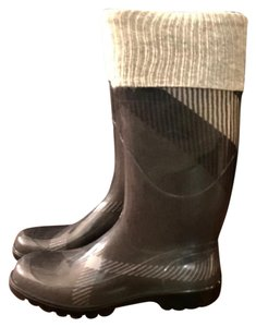 Burberry Gray Boots