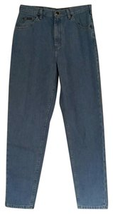 Lee Vintage High Waist Straight Leg Jeans-Light Wash