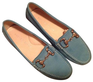 Patricia Green turquoise Flats