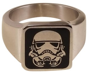 Disney Star Wars Darth Vader Stainless Steel Ring Size 10
