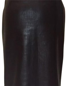 Leather by Michael Lawrence Skirt brown