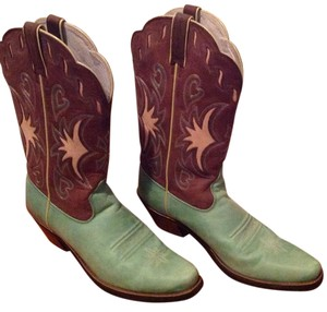 Ariat brown & turquoise Boots