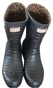 Hunter Steel Grey Boots