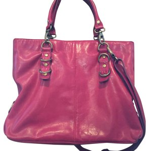 Perlina Leather Hobo Bag