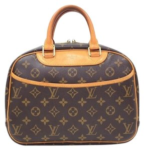 Louis Vuitton Lv Trouville Monogram Canvas Travel Bag