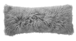 West elm West Elm Mongolian Lamb Pillow Cover - Platinum (14