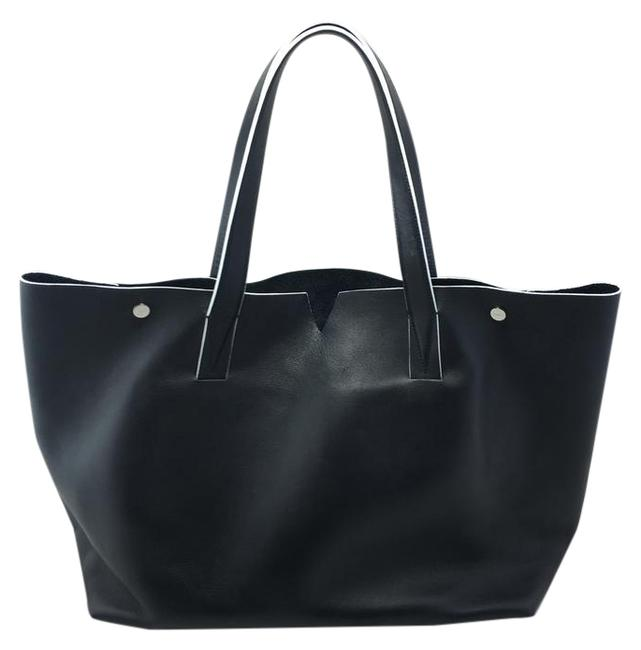 Item - 'signature Collection' Black Leather Tote