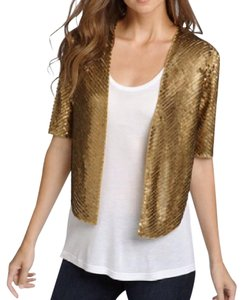 Other Sequined Cover Party Gold Jacket