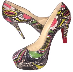 Christian Louboutin Multicolored Platforms