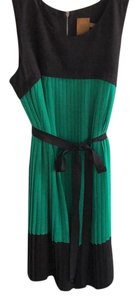 Ali Ro short dress Black and green on Tradesy