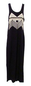 Black Maxi Dress by Funktional 100% Cotton Maxi Racerback