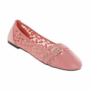 Red Circle Footwear Coral Flats
