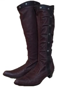Henry Beguelin Stretch Leather Cult Favorite Rare Cocoa Brown Boots