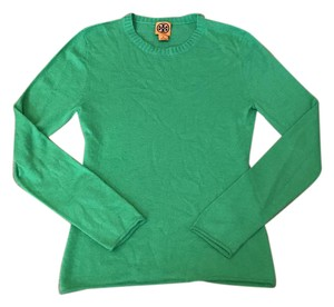Tory Burch Green Cozy Sweater