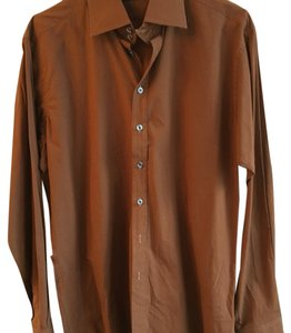 Burberry Button Down Shirt brown