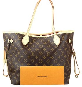 Louis Vuitton Neverfull Neverfull Mm Tote