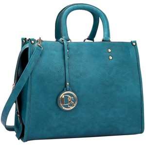 Classic Large Satchel in Blue