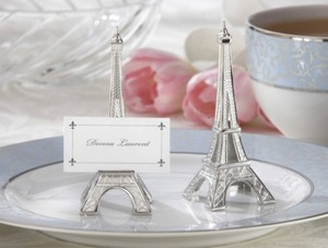 Eiffel Tower Place Holders - Set Of 24