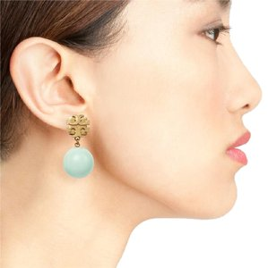 Tory Burch Double T Dangle Earrings