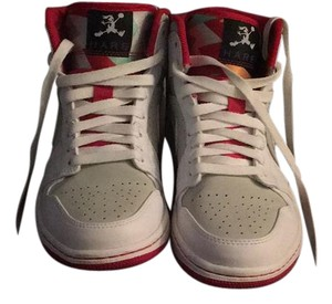 Air Jordan white and red Athletic