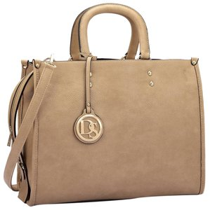 Other Classic Large Handbags Vintage The Treasured Hippie Satchel in Beige
