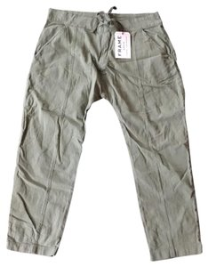 Frame Denim Trouser Pants Olive