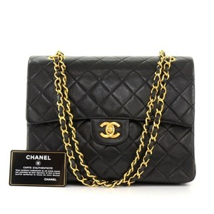 Chanel Double Flap Vintage Shoulder Bag