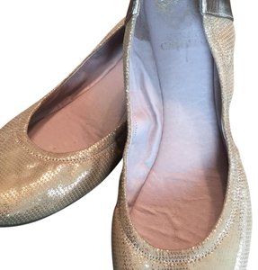 Vince Camuto light gold leather flats Flats