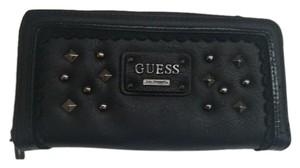 Guess GUESS Studded clutch wallet, Black