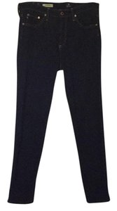 AG Adriano Goldschmied Mid-rise Cigarette Straight Leg Jeans