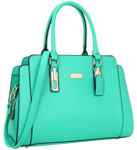Other Classic The Treasured Hippie Vintage Large Handbags Satchel in Green