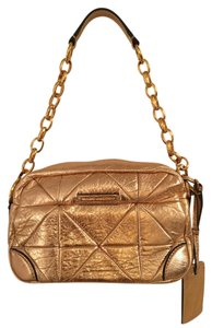 Marc Jacobs Hardware Leather Shoulder Bag