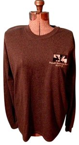 Gildan Moose Alaska Long Sleeve Cotton Park Top