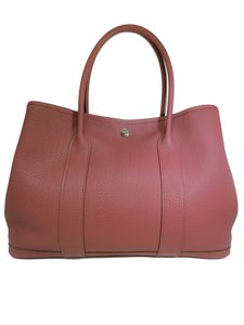 Hermès Garden Party Anemone 36 Tote in Mauve