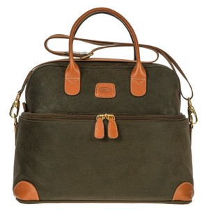 Bric's Travel Case Womens Satchel in Olive