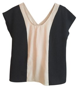 Forever 21 Top Black and tan