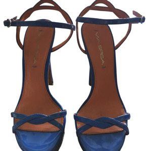Via Spiga Blue Platforms
