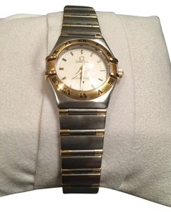 Omega Omega Constellation Ladies 22mm Stainless Steel and Gold Watch