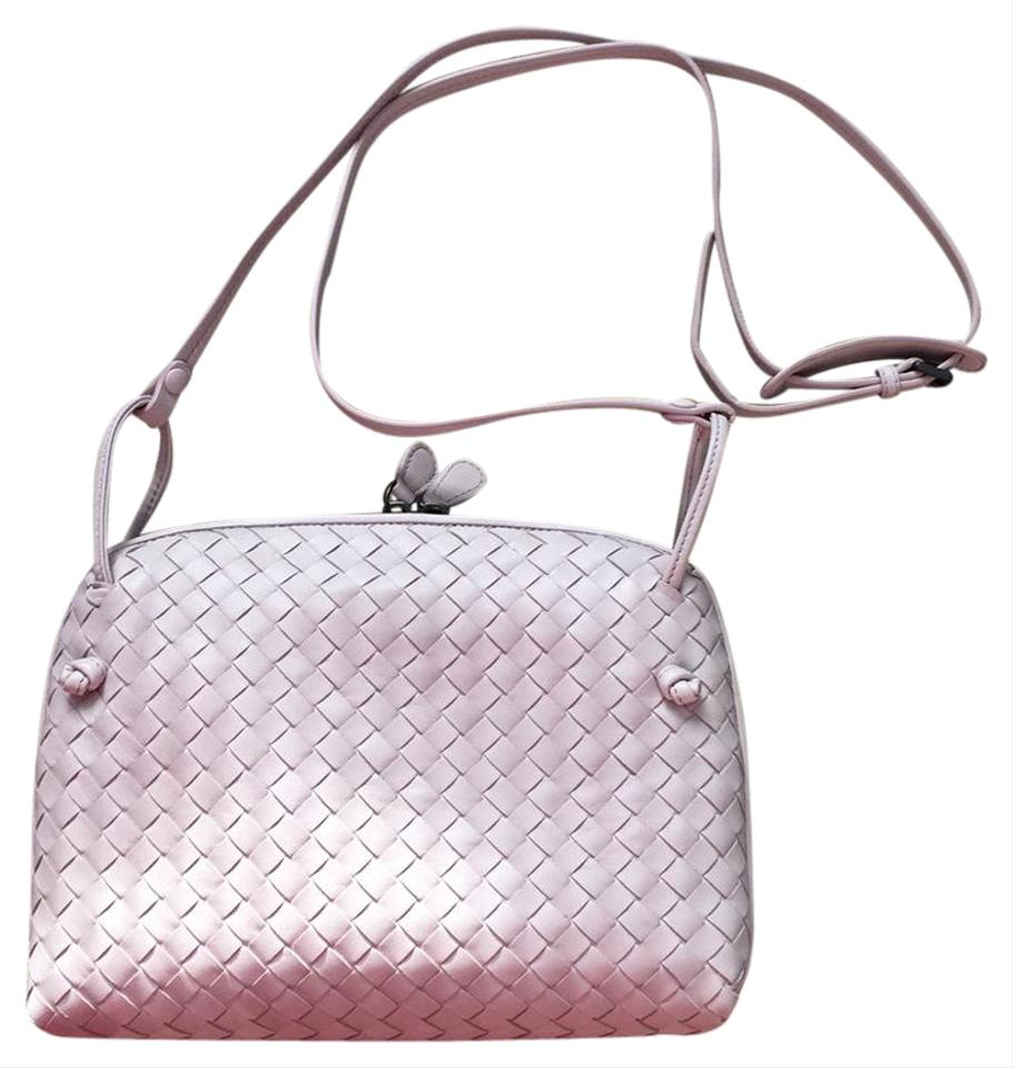 0acc0170b1 Bottega Veneta Messenger Lavender Purple Intrecciato Nappa Cross ...
