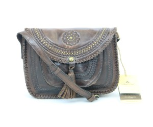 Patricia Nash Designs Distressed Vintage Crossbody Leather Shoulder Bag