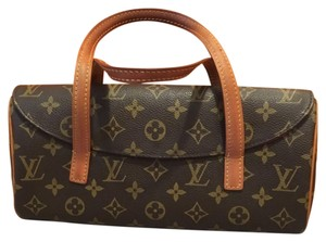 Louis Vuitton Satchel in Brown, Monogram