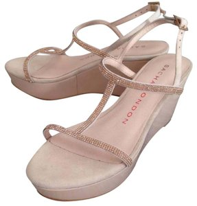 Sacha London nude Wedges
