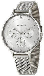 Skagen Denmark SKW2312 Anita Silver Dial Stainless Steel Multifunction Women's Watch