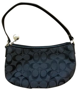 Coach Handbag Black Clutch