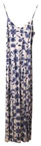 Blue and White Maxi Dress by BB Dakota